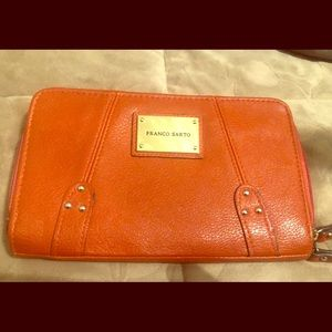 Ladies orange wallet